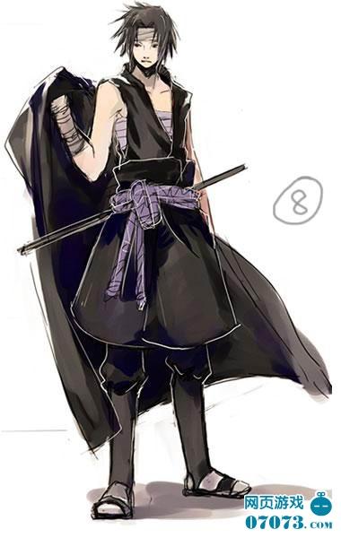 火影忍者服饰造型 佐助篇